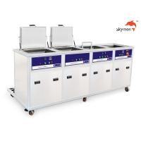 Buy cheap 100L Tank Volume Ultrasonic Cleaning Machine 28/40KHz With Filter Dryer Spray from wholesalers