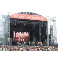 Buy cheap Indoor Rental LED Displays P4.81 , Full Color Stage LED Screen For Live Sports product
