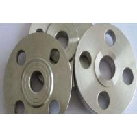Buy cheap Class 600 1 1/2'' SORF FF RTJ Slip On Welding Flange R50400/GR.2 Titanium Pipe Fitting Flange from wholesalers