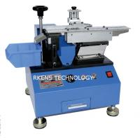 Buy cheap Semi - Automatic 60Hz Radial Cutting Machine For Radial Components Leg product