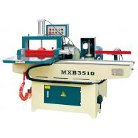 Buy cheap MX3515B Semi automatic shaper comb tenon wood finger joint machine from wholesalers
