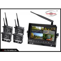 Buy cheap Digital  2.4G Wireless Quad Truck / Bus Monitoring System With OSD Control product