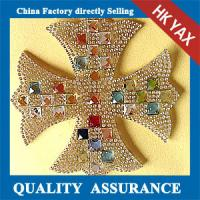 Buy cheap D0930china factory rhinestone applique,hotfix rhinestone patches, hot-fix rhinestone patches from wholesalers