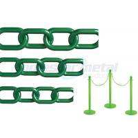 Buy cheap Recyclable Colorful Plastic Link Chain / Green Plastic Chain For Garden from wholesalers