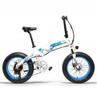 Buy cheap Popular Folding Fat Bike , 20 Inch 1000 Watt Electric Bike 5 Shifts Control from wholesalers