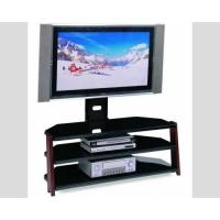 Buy cheap Residential TV Media Stand Expresso Color Customizable Size Easy To Install from wholesalers