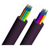 Buy cheap JET Net Outdoor Fiber Optic Cable Air Blowing With HDPE Guided Tubes To HDPE Duct from wholesalers