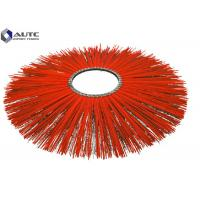 Buy cheap Flat Ring Sweeper Broom Brushes PP Steel Mix Wire Galvanized Iron Fastening from wholesalers