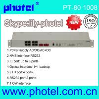 Buy cheap 8E1 100M Managed PDH Multiplexer Converter from wholesalers