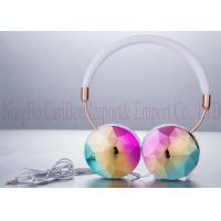 Buy cheap 3.5mm Electroplated Foldable Stereo Headphones For Android Mobile Phones from wholesalers