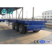 Buy cheap 20FT / 40FT BPW Axle skeletal container semi trailer Heavy duty Chassis from wholesalers