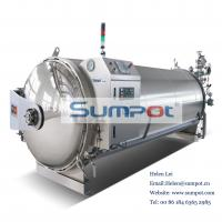 Buy cheap SUMPOT good quality automatic water spray autoclave sterilizer for food industry PLJ 12-4.B.4 with CE from wholesalers
