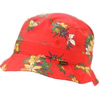Buy cheap Outdoor Camping Floral Red Cotton Bucket Hat For Women Flower Patterns Available from wholesalers