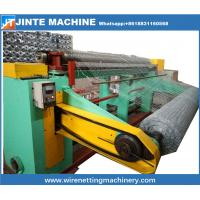 Buy cheap Straight and Reverse Twisted chicken wire mesh machine making from wholesalers