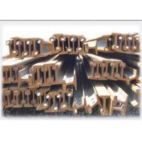 Buy cheap 50Mn / U71Mn Grade Railroad Steel Rail GB2585-2007 With Long Lifetime from wholesalers