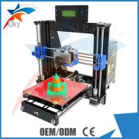 Buy cheap Laser Cut Acrylic Frame 3d Printer Kits Dual Extruder I3 Pro C Multicolor from wholesalers