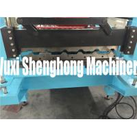 Buy cheap Simple Self-locked Roof Series Roofing Tile Forming Machine / Improved Bender from wholesalers