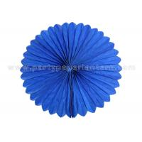Buy cheap Blue Pink honeycomb hanging balls / Tissue Paper Cardboard honeycomb party balls from Wholesalers