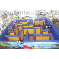 Buy cheap QiLe Funny Inflatable Sports Games Laser Tag Air Inflatable Maze Durable from wholesalers