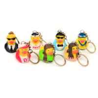 Buy cheap Vinyl Mini Rubber Duck Keyring Environmental Protection For Children from wholesalers