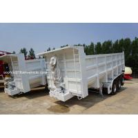 Buy cheap hydraulic dump trailer tipping semi trailers 3 axles | TITAN VEHICLE from wholesalers