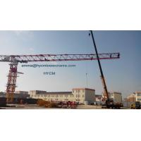 Buy cheap Topless Flat Tower Crane 20t PT8030 80M Large Working Jib 5m Mast from wholesalers