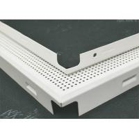 Buy cheap Square Clip In Perforated Ceiling Panels Aluminum Alloy For Exhibition Hall from wholesalers