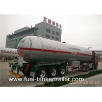 Buy cheap Lpg Cylinder Vacuum tank trailer With BPW Axle and Air Suspension from wholesalers