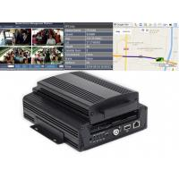 Buy cheap HD DVR 4CH 720 P 4G Mobile Vehicle DVR GPS Tracking 12V Car CCTV product