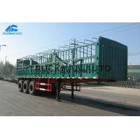 Buy cheap 3x13 Tons 3 Axles Fence Tractor , Semi Trailer Truck With 50 Tons Loading Capacity from wholesalers