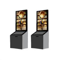 Buy cheap 43 Inch Standing Advertising Display Bulit In Android / PC System With Donation Box from wholesalers