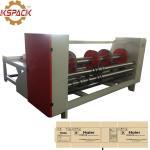 Buy cheap Chain Feeding Eccentric Slotter Machine ,  Box Making Corrugation Machine from wholesalers