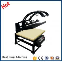 Buy cheap Large format manual fabric transfer sublimation t shirt heat press machine for sale for all fabric factory5C2 from wholesalers