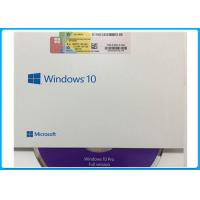 Buy cheap Online Activation Microsoft windows 10 Pro software English / French / Russia / Spanish/German from wholesalers