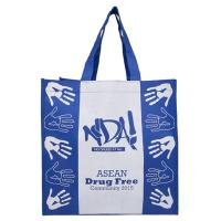 Buy cheap Waterproof Polypropylene Reusable Bags / Wear Resistant Poly Tote Bags from wholesalers