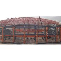 Buy cheap Q235B Q345B STEEL STRUCTURE WAREHOUSE MATERIAL STEEL FRAME BEAM COLUMN CHEAP from wholesalers