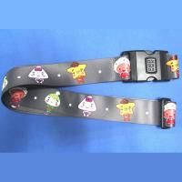 Buy cheap Adjustable combination locking baggage strap with custom picture from wholesalers
