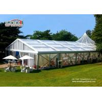 Buy cheap Romance Thematic Aluminum Wedding Party Tent / Cream White Luxury Wedding Tents from wholesalers