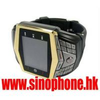 Buy cheap wrist watch mobile phone GD910 quad band watch phone from wholesalers