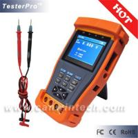Cctv tester with multimeter and ptz controll, cable test