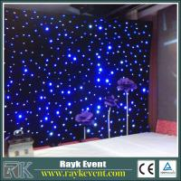 Buy cheap Flexible Led Curtain Fairy Light Curtain High Quality Led Star Cloth from Wholesalers