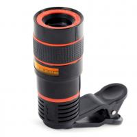 Buy cheap Clip 12X Zoom Mobile Phone Telescope Lens Telephoto External Smartphone Camera Lens For IPhone For Sumsung For Huawei from wholesalers