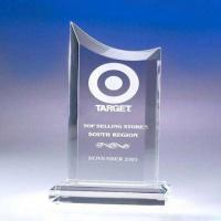 Buy cheap 20mm / 30mm Transparent Sports Acrylic Award Trophy Enviromental Friendly from wholesalers
