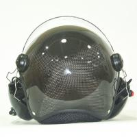 Buy cheap Carbon fiber Paramotor helmet PPG helmet with high noise cancel headset EN966 certificated from wholesalers