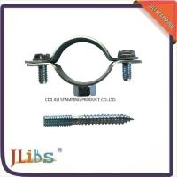 Buy cheap Iron Sheet Materials Cast Iron Pipe Clamps 18mm-200mm Size OEM Accepted from wholesalers