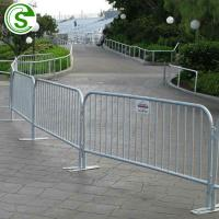 Buy cheap Galvanized temporary metal fences panels safe pool fencing with less maintenance from wholesalers