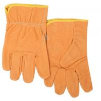 Buy cheap Industrial working gloves/ Top grade apricot grain pigskin merchanica glove and leather rigger gloves in work glove from wholesalers