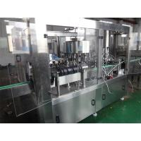 Buy cheap Auto Glass Bottle Filling Machine For Carbonated Drink Washing Filling Capping Machine from wholesalers