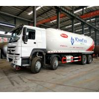 Buy cheap Mobile Howo Propane Tank Truck / LPG Delivery Truck 8x4 36000 Liters ZZ1317N4667W from wholesalers