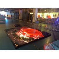 Buy cheap P6.25 Interactive LED Floor , LED Dancing Floor Screen Die Casting Aluminum from wholesalers